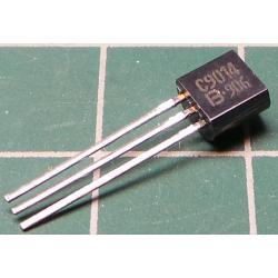BC108, NPN Transistor, 30V, 0.1A, 0.3W