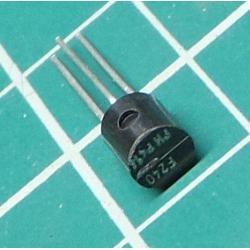 BF240, NPN Transistor, 40V, 0.025A, 0.3W