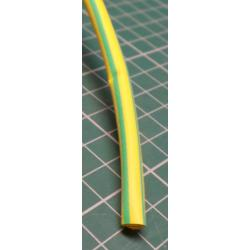 Shrink tubing 5.0 / 2.5 mm yellow / green