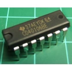 40106, CMOS, 40106, Hex Schmitt trigger