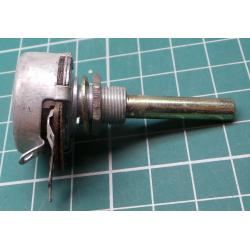 Potentiometer, 2M2, Lin, Shaft 6x28mm