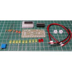 VU Meter Kit with LM3915 IC