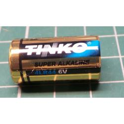 Battery, 4LR44, 6V alkaline
