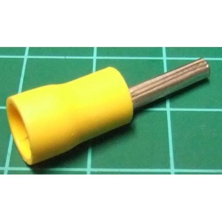Terminal pin yellow