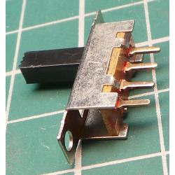 Switch, Slide, SP3T 1pol.50V / 0.5A