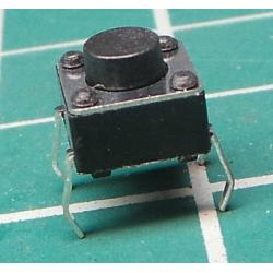 Micro Switch SPST, Push to Make, Non-Latching, Momentary, 50mA