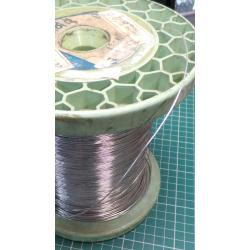 Wire, Uninsulated, Solid, 0.8mm, 20AWG, Diameter