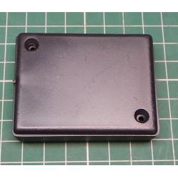 Enclosure: multipurpose, X: 49.5mm, Y: 64.5mm, Z: 17.5mm, black