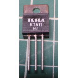 KT511, Thyristor, 400V, 0.8A, TO220