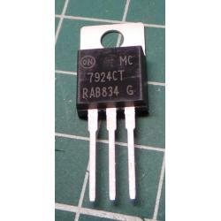 7924 stabilizer -24V / 1.5A TO220
