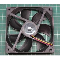 PC chassis fan 120x120x24mm 12V DC / 0,36 2000 rev / min