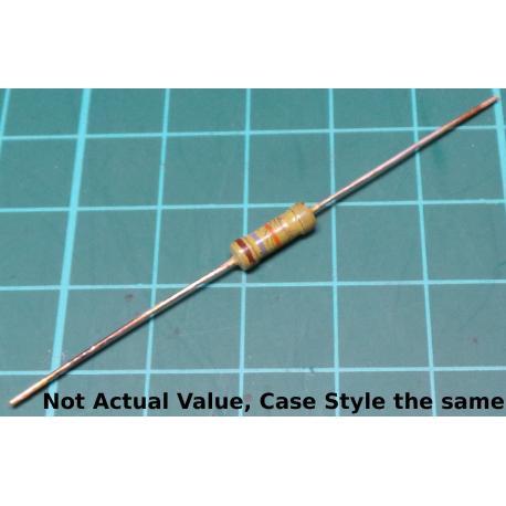 Resistor, 3M9, 5%, 0.5W, Old Stock