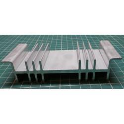 Chladič Al ZH136 115x26x50mm