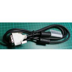 DVI plug to DVI plug, 1.6m