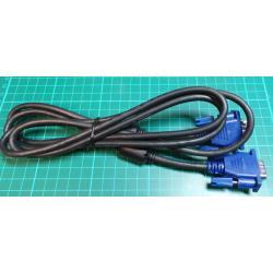 VGA Plug to VGA Plug (M-M), 1.7m