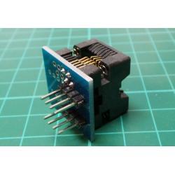 SOP8 to DIP8 EZ Programmer Adapter Socket Converter Module Narrow HC
