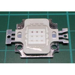 10W RGB High Power LED Module light Lamp SMD Chip DC 9-11V RED/GREEN/BLUE