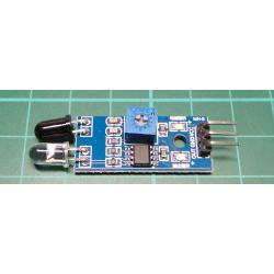 Portable Avoidance Infrared Obstacle Reflection Photoelectric Sensor Module