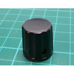 K18-02 23*16*6mm Black Bakelite Potentiometer Knobs Cap