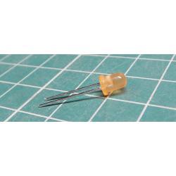 LED yellow diffuse LQ1412 4 mm