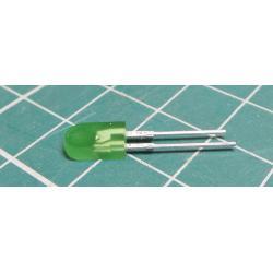 2,5x5mm LED green diffuse LQ1812