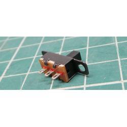 Black Mini Size 3-Pin SPDT Slide Switch 5V 0.3A for DIY Electronic Kits