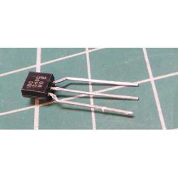 Transistor: NPN, bipolar, 30V, 100 mA, 500mW, TO92
