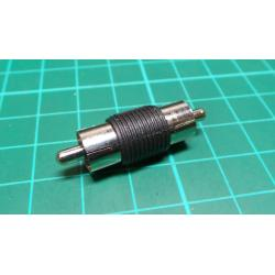 RCA Plug to RCA Plug, Adaptor