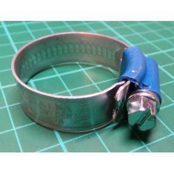 Hose Clip, Diam 22-32mm, 12mm Width