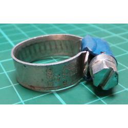 Hose Clamp, Diam 13-20mm, 9mm Width