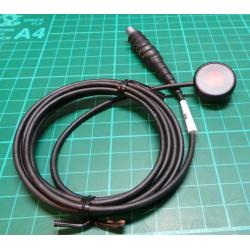 Push-to-talk Button, with 1.6m Cable, 3 Pin Lemo Connector