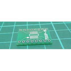 27 PCS SO/SSOP/TSSOP/SOIC16 to DIP Adapter PCB Board Converter Double Sides