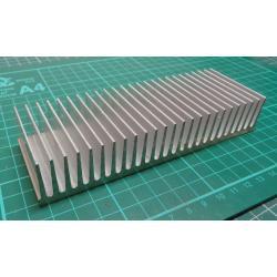 Heatsink, Alu, 150x50x27mm