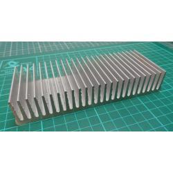 Heatsink, Alu, 150x60x27mm
