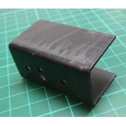Heatsink, Anodized Aluminum, 50x25x30mm, TO66
