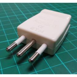 Mains Plug, Italian, 250V