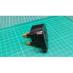 Travel Adaptor, UK Plug, Universal Socket