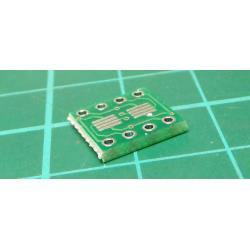 244A SOP8 SO8 SOIC8 SMD to DIP8 Adapter PCB Board Convertor Double Sides