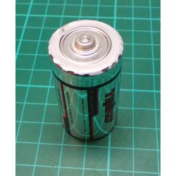 Battery, C(R14), Zn-Cl, Out of Date, 12-2018