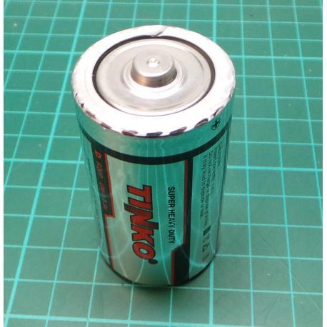 Baterie TINKO D(R20) Zn-Cl, balení 24ks