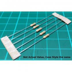 Resistor, 6M8, 5%, 0.25W, old stock