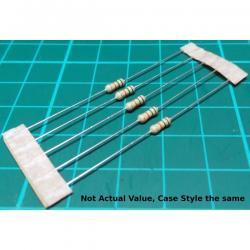 Resistor, 820R, 5%, 0.25W, loose