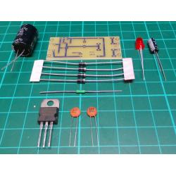 Regulated PSU Kit, 5V, 1A, 52x22mm