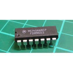 4066 - 4x analog switch DIL14