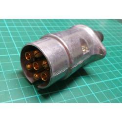 Konektor k přívěsu 7p kovový