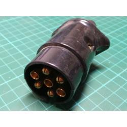 Konektor k přívěsu 7p plastový