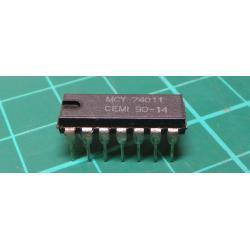 74011 - 4x 2vstup NAND CEMI, DIL14