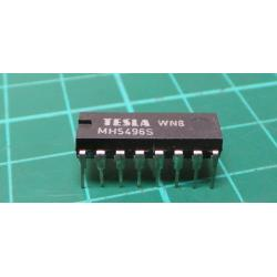 7496 5-bit shift register, DIL16 / MH7496S, MH5496S, MH5496 /