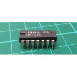 7440 2 4 Entry. NAND DIL14 / MH7440, MH7440S, MH5440, MH5440S /