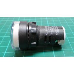 230V LED lamp 29 mm, white